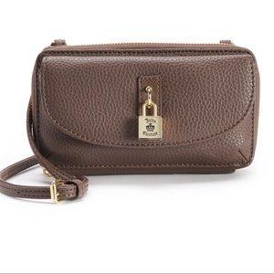 Juicy Couture Brown mini crossbody purse bag